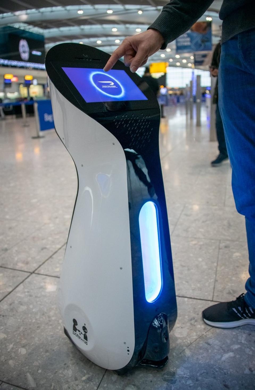 British Airways Terminal 5 Robot