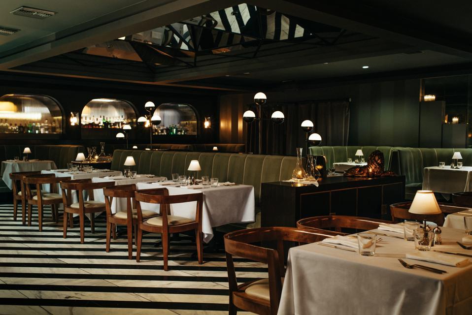 Mr. Lyon's Steakhouse Palm Springs Tara Lazar
