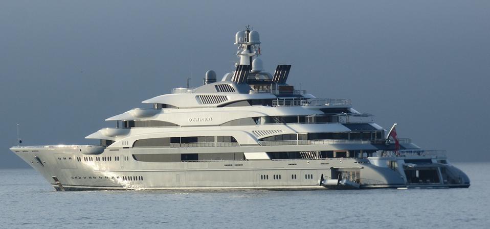 Ocean Victory owned by Russian steel magnate Victor Rashnikov