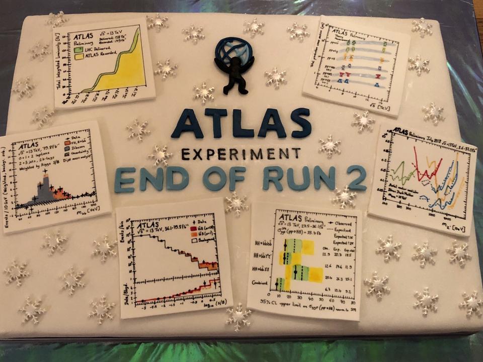 ATLAS results cake