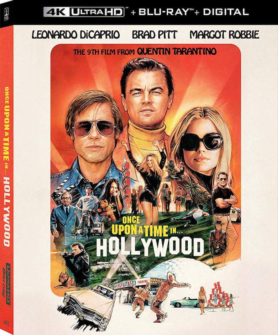 Once Upon A Time In Hollywood 4K BD artwork