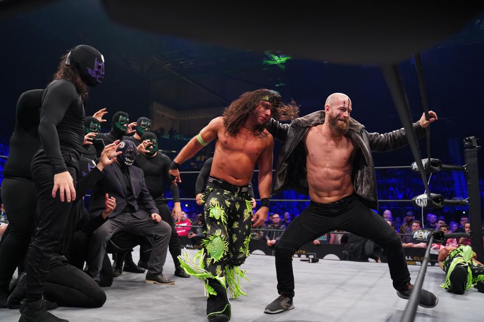AEW Dynamite WWE The Dark Order Young Bucks