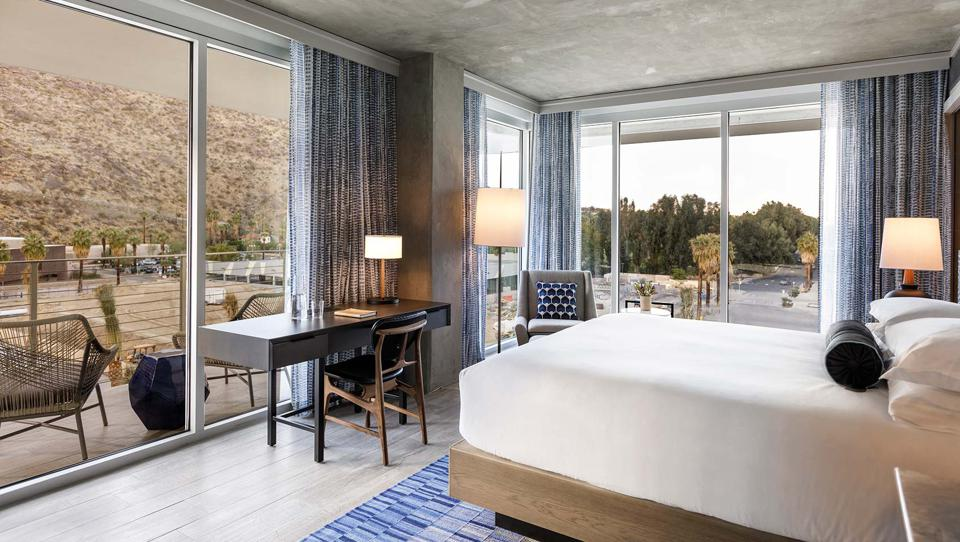 Kimpton Rowan Palm Springs Hotel is the newest hotel in the area,.