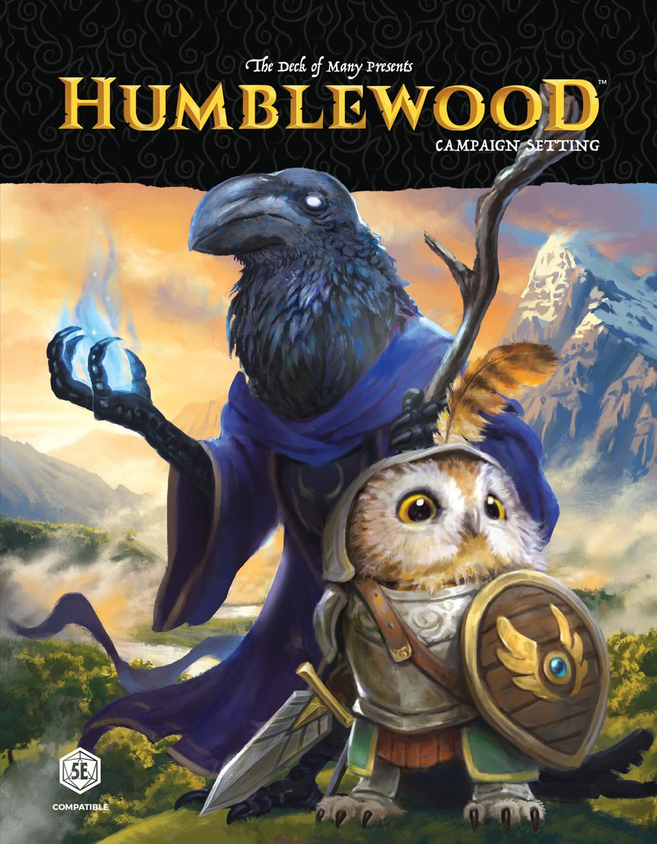 Cover of the Humblewood Campaign setting.