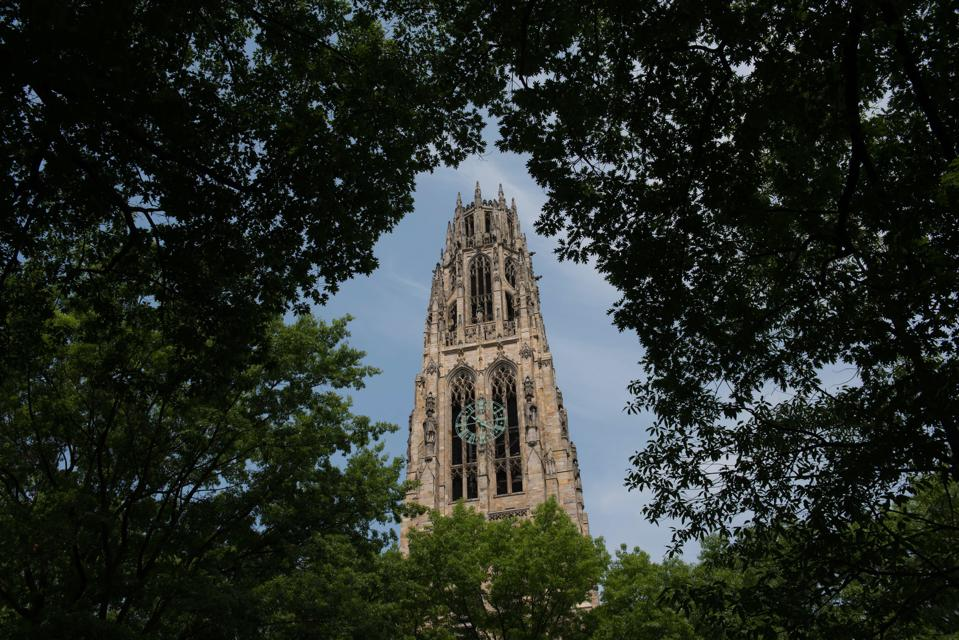 Views Of Yale University As Ivy League Pay Soars