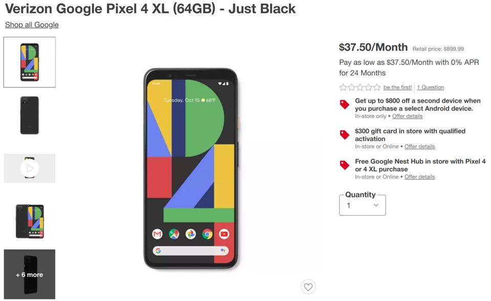 Target smartphone deals, Pixel 4 deals, Samsung deals, Galaxy S10 deals, iPhone deals, iPhone 11 deals,