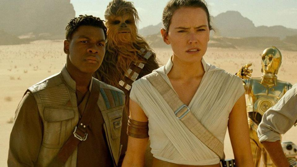 Finn Was Not Going To Tell Rey What You Think In Star Wars Rise Of Skywalker