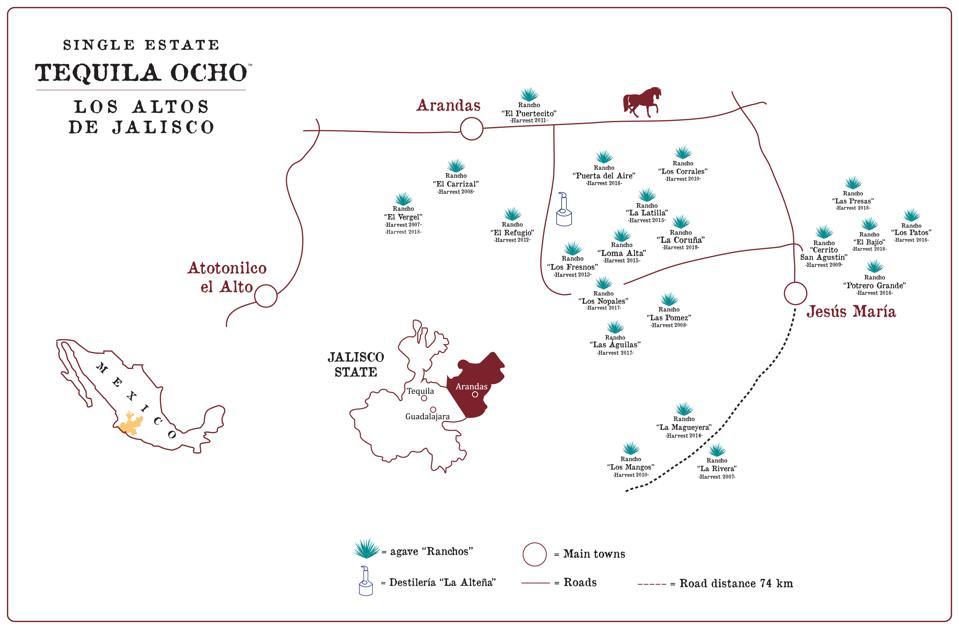Tequila Ocho Field-Map-2019
