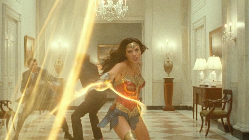 Gal Gadot in 'Wonder Woman 1984,' which will likely be the biggest domestic earner of next summer.