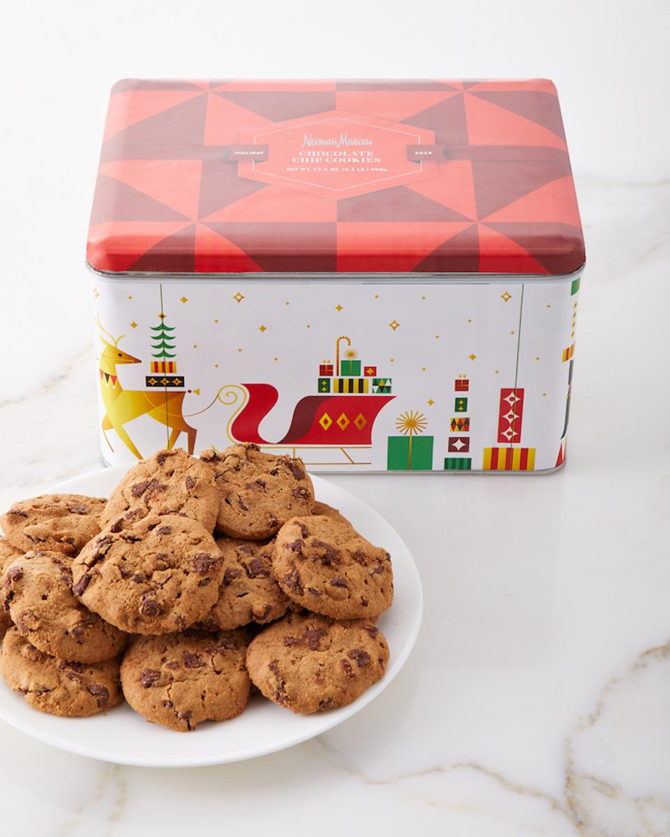 neiman marcus, chocolate chip cookies, Neiman Marcus cookie, choc chip, holiday gift guide