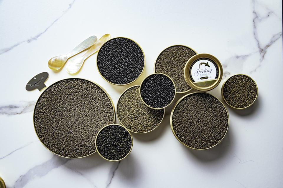 Sterling Caviar, caviar, holiday gift guide, gourmet foods, gift guide
