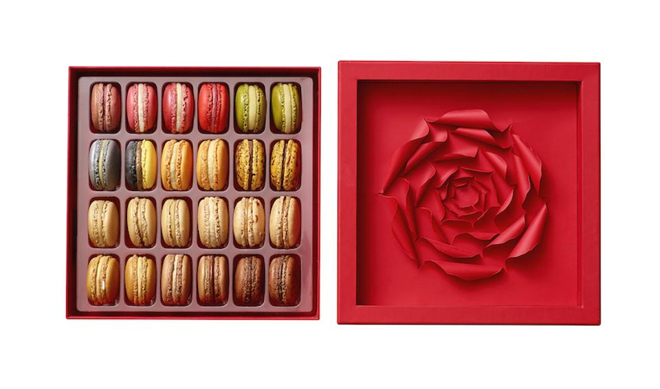 Pierre Hermé, Macarons, Rose Box, L'Avenue, Saks Fifth Avenue, Macaron, holiday gift guide