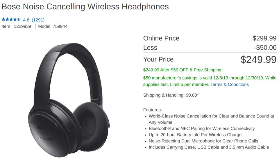 Bose Noise cancelling headphones, Bose Noise cancelling headphones sale, Bose Noise cancelling headphones deal,