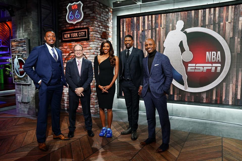 The NBA Countdown team