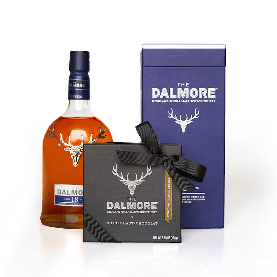 The Dalmore, Scotch, Vosges, Chocolate, Gift Set, holiday gift guide, gourmet, chocolates