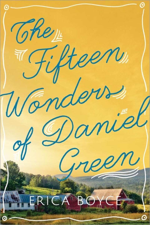 fifteen wonders of daniel green erica boyce crop circles fiction novel book cover