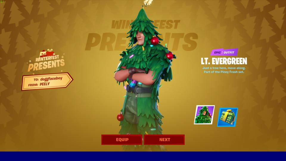 Lt Evergreen Fortnite