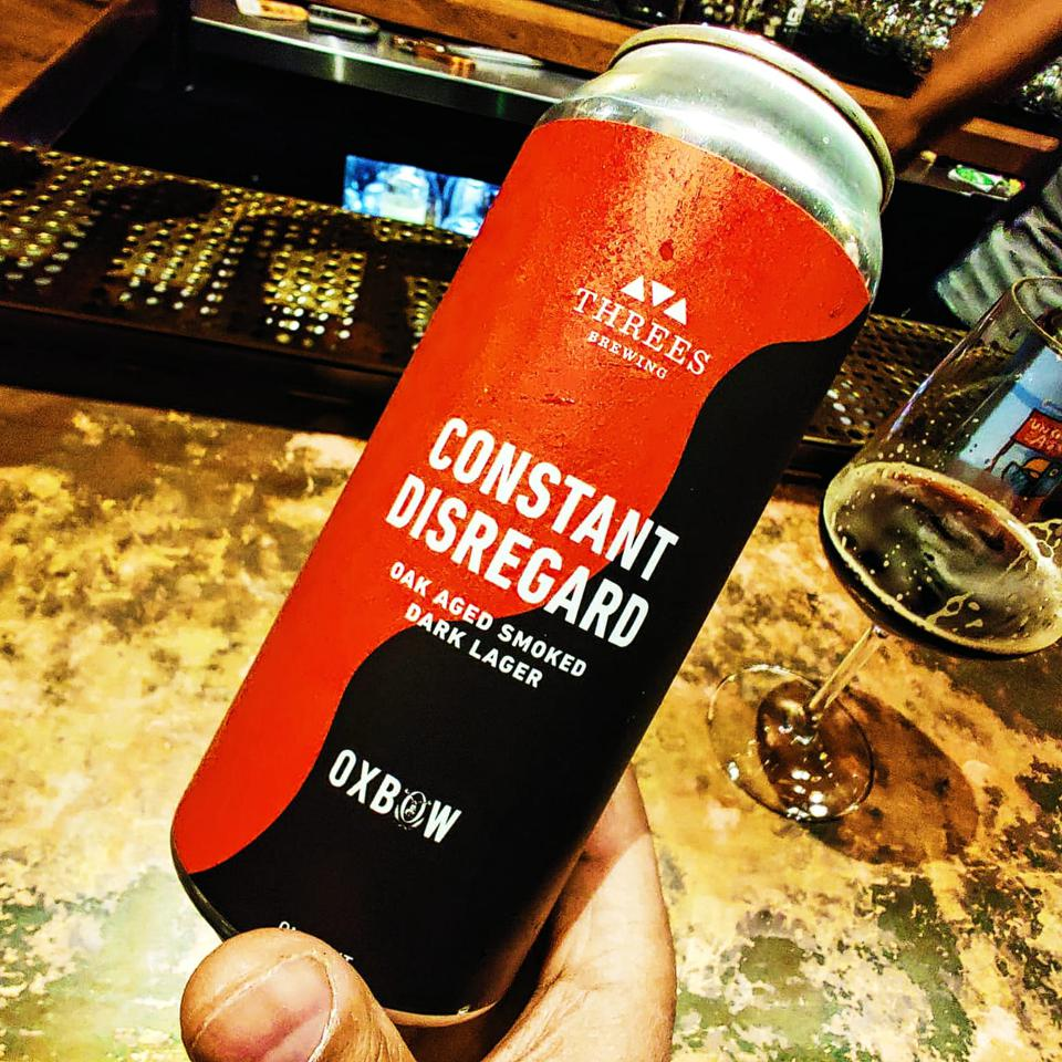 Constant Disregard by Threes Brewing & Oxbow Brewing Company.