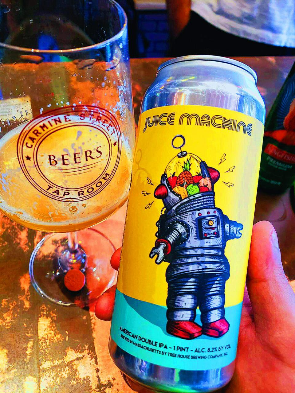 Juice Machine by Tree House Brewing Company.