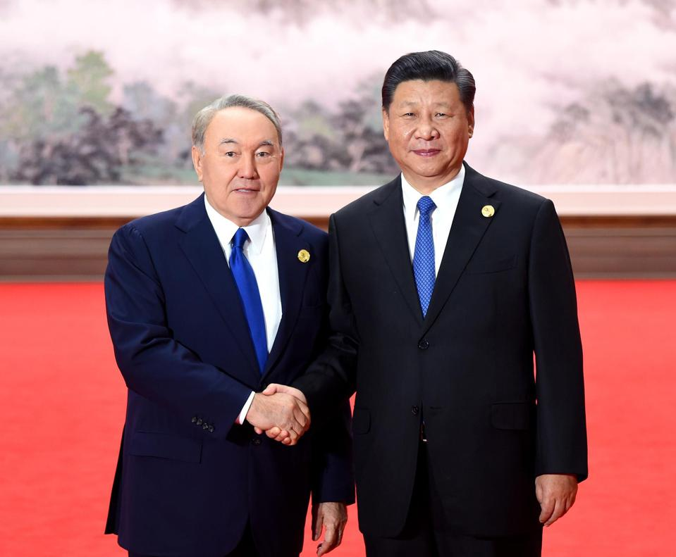 Kazakhstan's president meets with China President Xi Jinping
