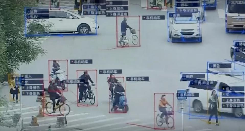 China's surveillance cameras will soon be able to identify citizens by name