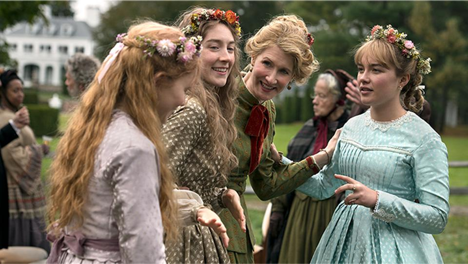 Eliza Scanlen, Saoirse Ronan, Laura Dern and Florence PughGreta Gerwig's 'Little Women'