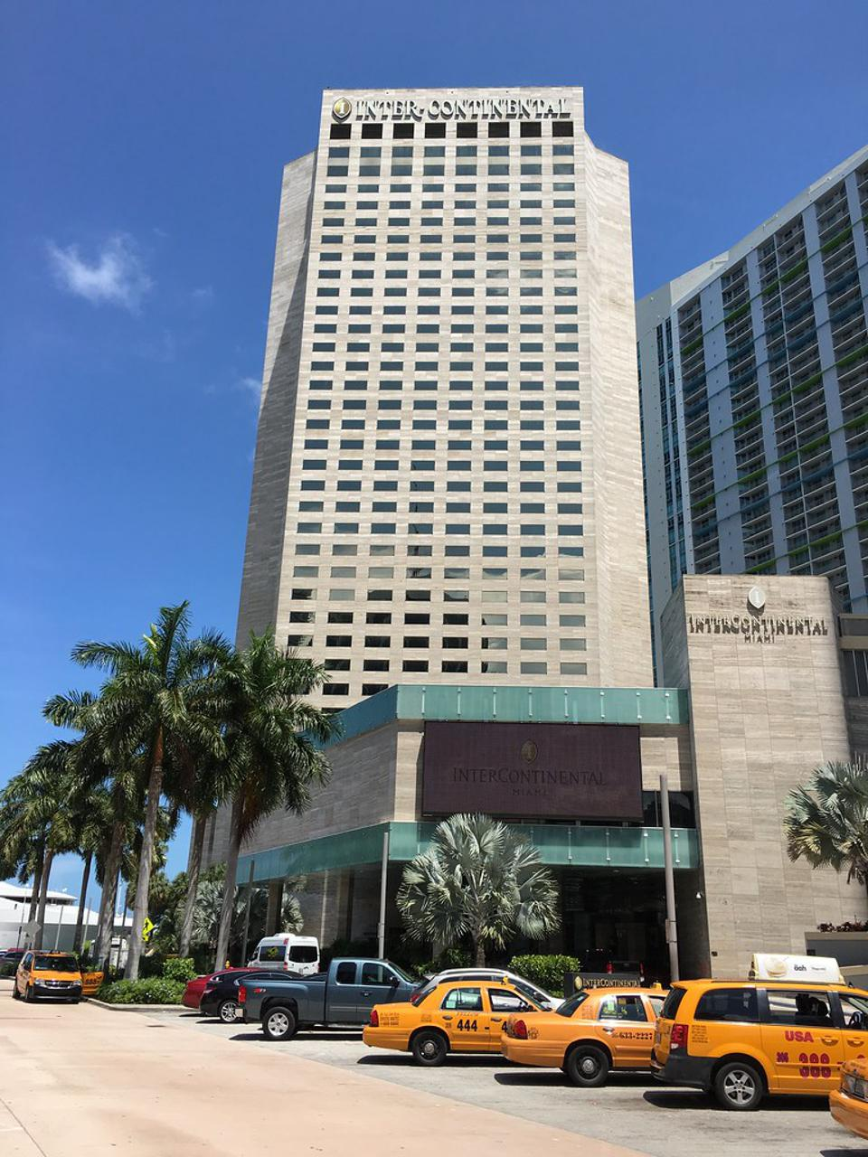 Intercontinental Hotel Is Central To The Downtown Miami Experience