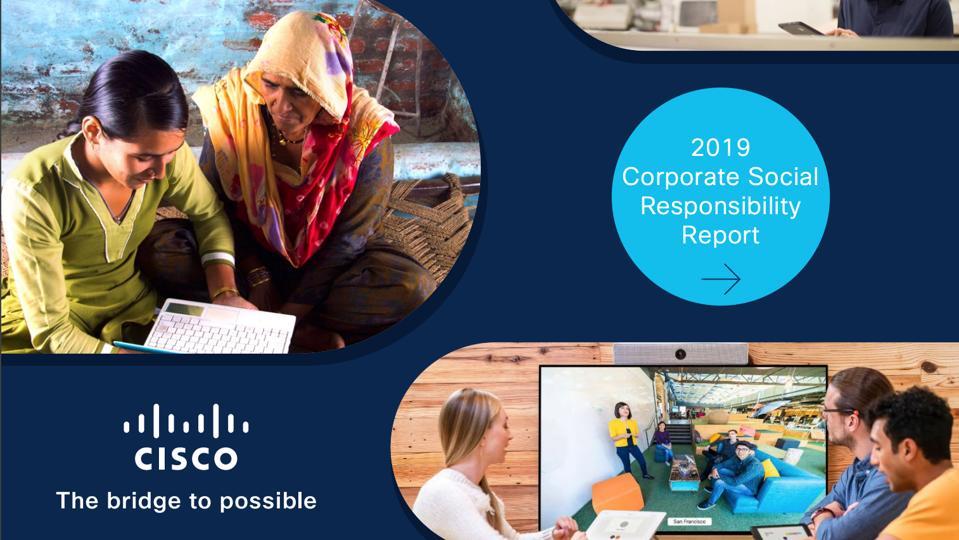Cisco 2019 CSR Report