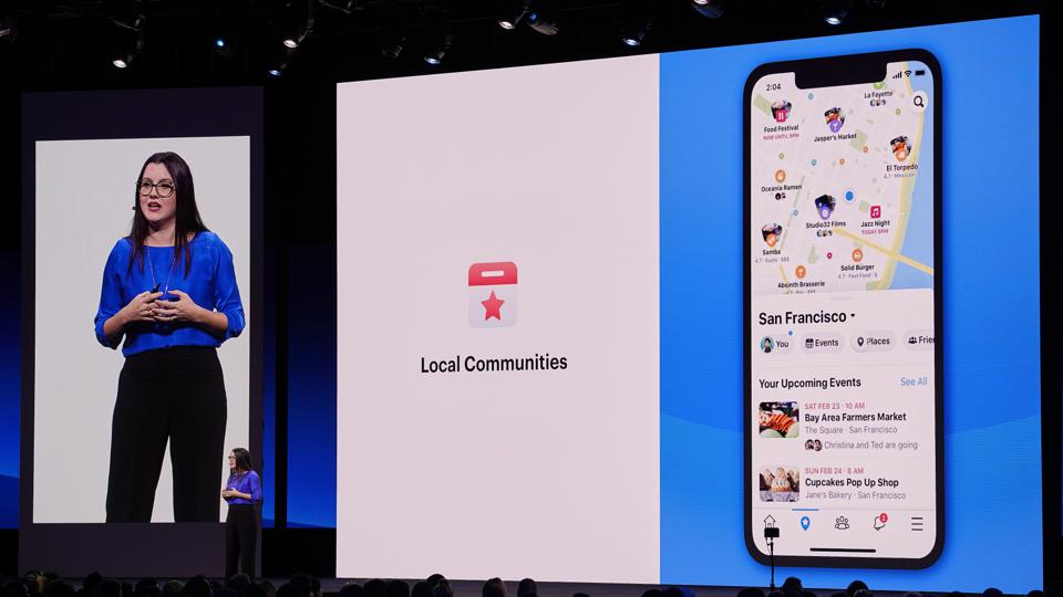 Fidji Simo, Head of the Facebook App, On Stage At F8