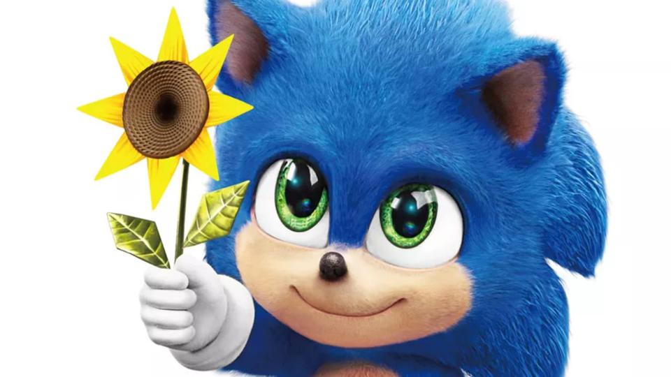 The Upcoming Sonic The Hedgehog Movie Shows Off Its Adorable Baby Sonic