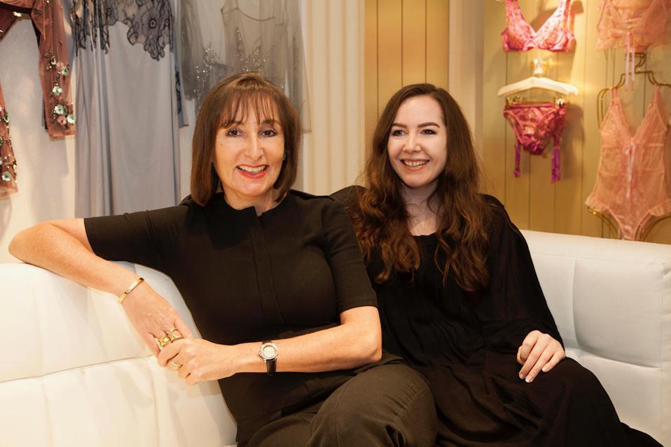 Leila Habibi and Jess Thompson
