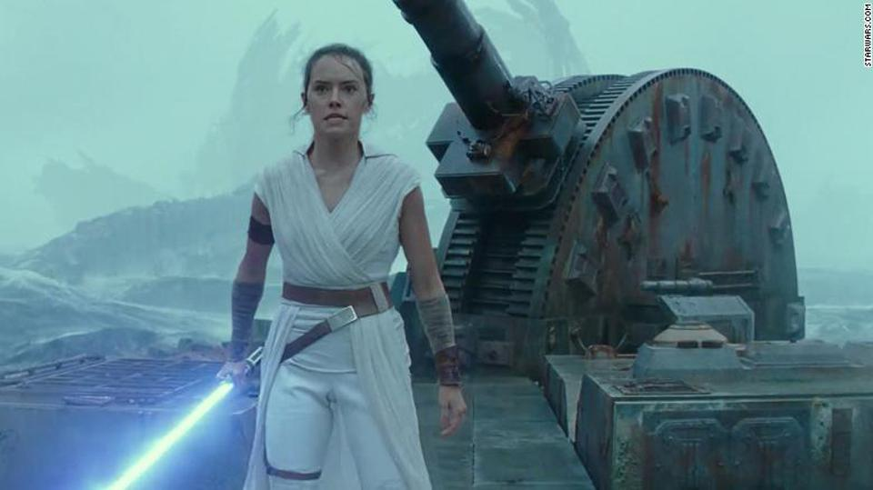 Daisy Ridley in J.J. Abrams' 'Star Wars The Rise of Skywalker'