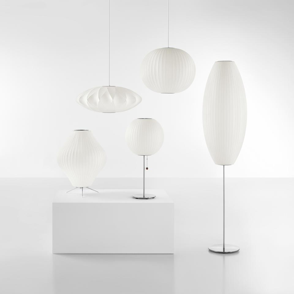 Bubble Lamps by George Nelson.