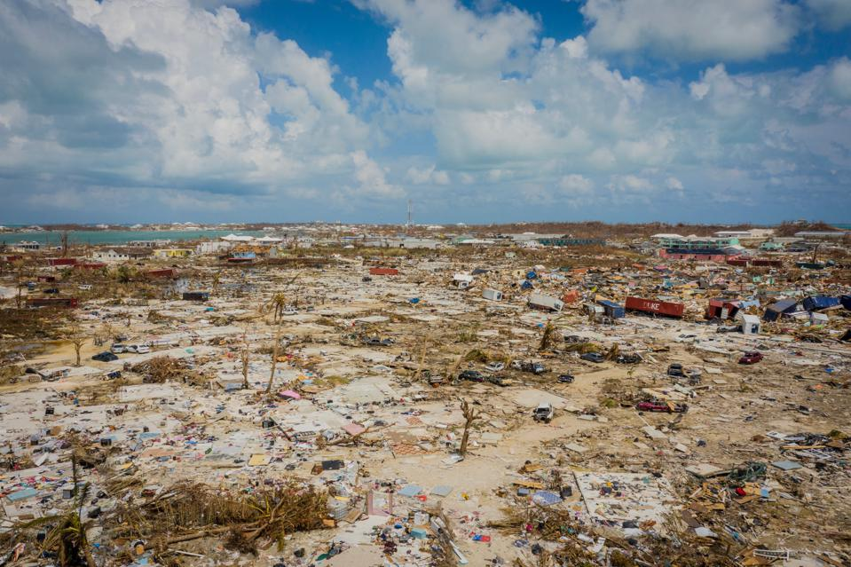 Aftermath of Hurricane Dorian in Bahamas