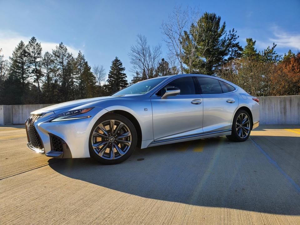 2019 Lexus LS 500 F-Sport Review: 4 Ways It Separates Itself