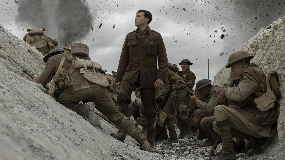 George MacKay in Sam Mendes' '1917'