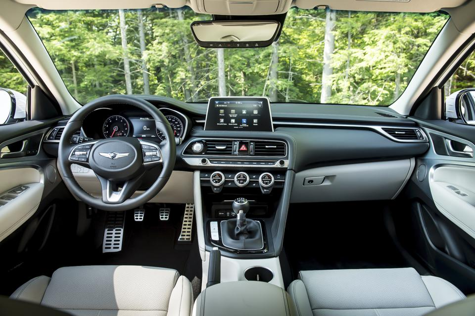 2020 Genesis G70 Test Drive And Review Badges