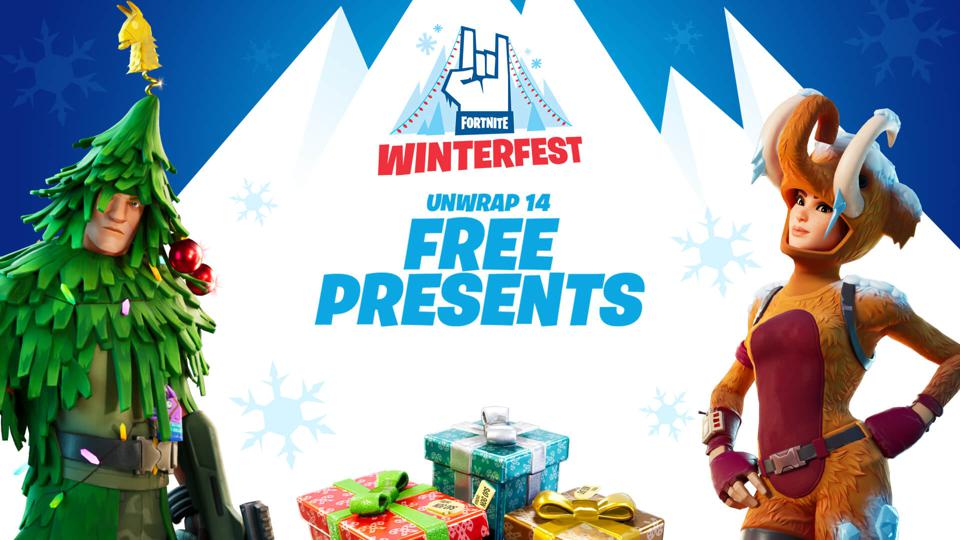 Fortnite's Winterfest Presents: How To Get The Free 'Woolly Warrior' Skin Now
