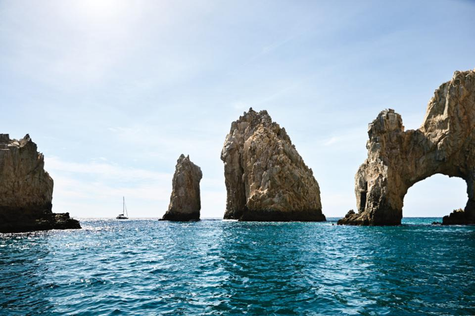 El Arco, the dramatic rock formation in Cabo San Lucas, Los Cabos