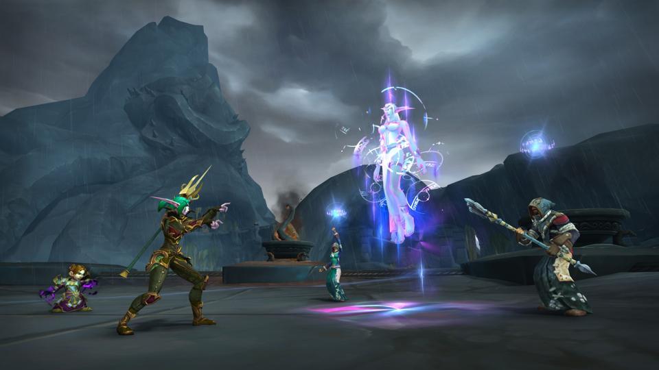 Mythic plus dungeon Warcraft