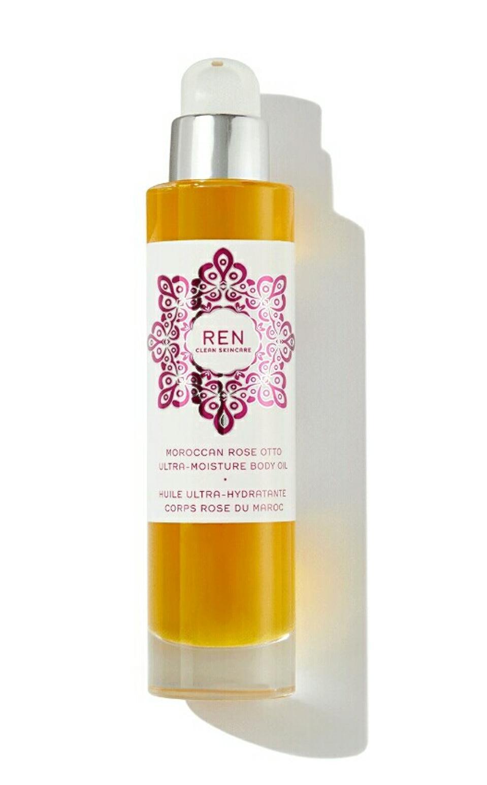 REN Moroccan Rose Otto Body Oil