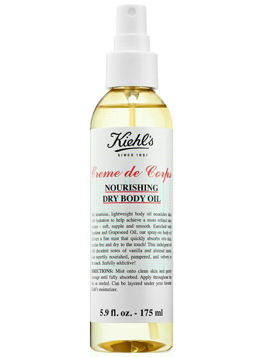 Kiehl Creme de Corps Nourishing Dry Body Oil