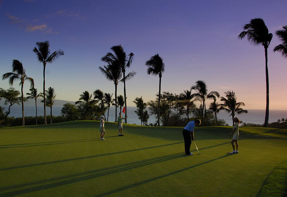 Wailea's Gold Course