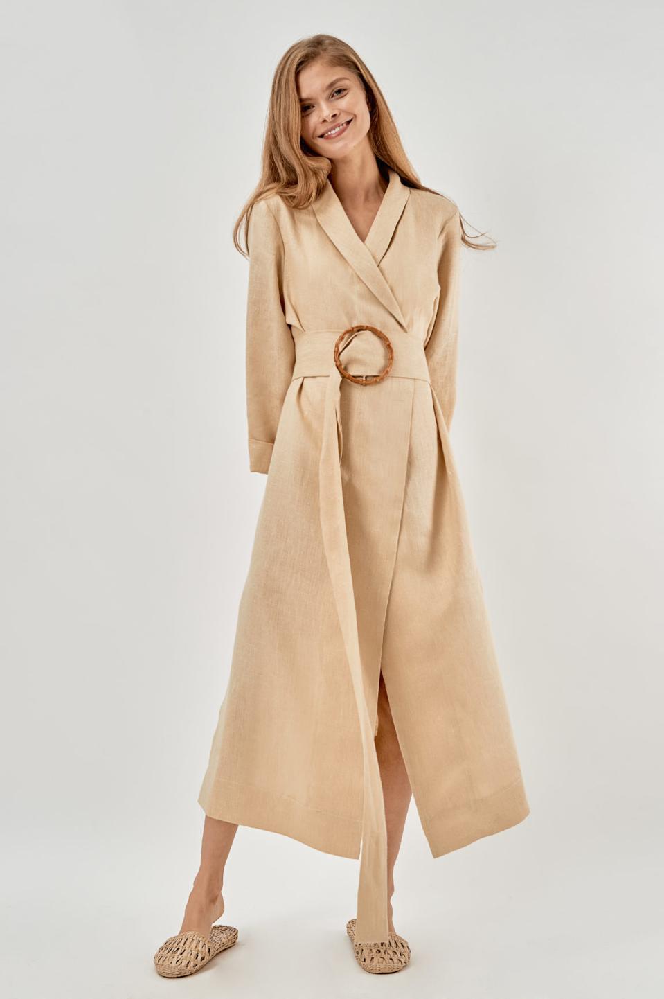 Linen Robe by SLEEPER