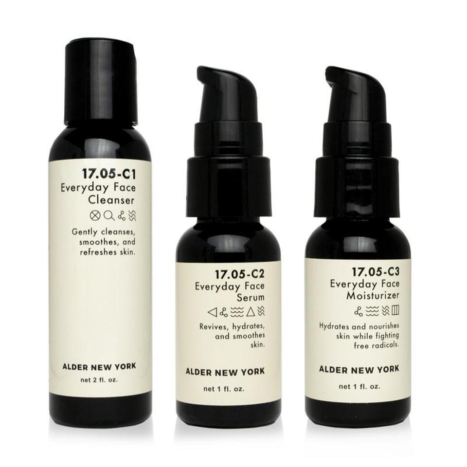 Everyday Skincare Travel Set by ALDER NEW YORK