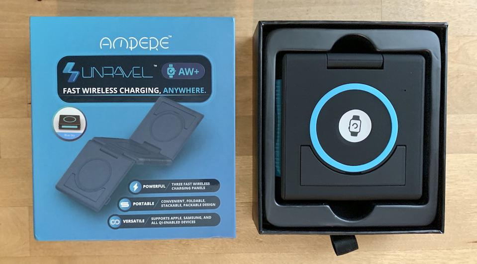 Ampere Unravel AW+ Wireless Charging Pad