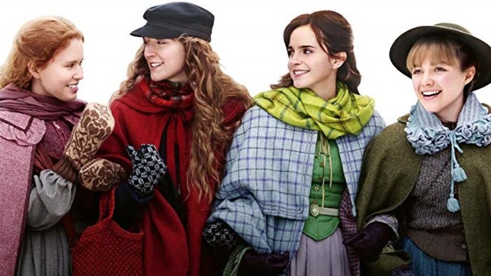 Emma Watson, Saoirse Ronan, Florence Pugh, and Eliza Scanlen in Greta Gerwig's 'Little Women'