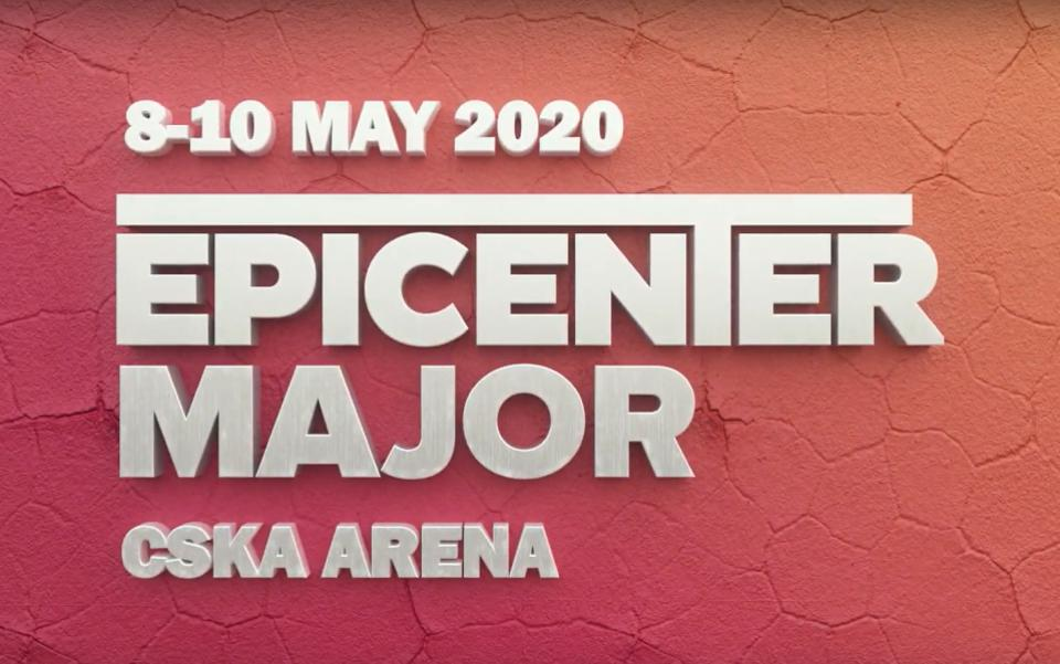 Key art for the Epicenter Major.