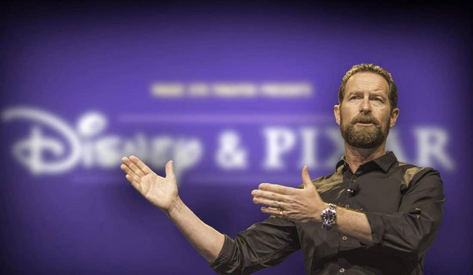 Duncan Wardle, a former Disney veteran, told an Oracle OpenWorld crowd how we can use imagination to disrupt markets and reinvent products.