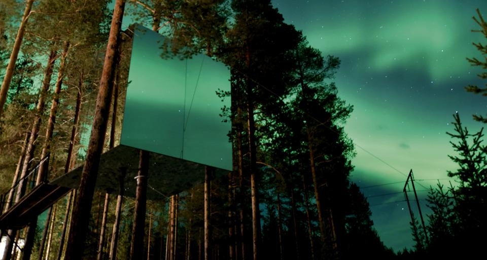 Treehotel treehouse hotel northern lights